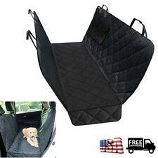 Waterproof Dog Car Seat Cover Hammock for Pet Car Back/Rear Bench Pad Mat Covers