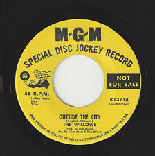♫WILLOWS Outside The City/Snow Song MGM 13714 R&B NORTHERN SOUL 45RPM♫