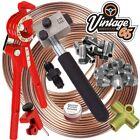 Austin Healey Sae 38 Unf 316 Copper Nickle Brake Pipe Flaring Restoration Kit