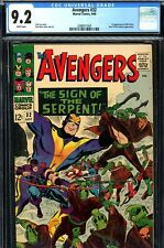 Avengers #32 CGC GRADED 9.2 - first appearance of Bill Foster - white pages