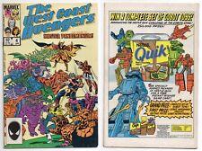 West Coast Avengers #4 (FN+ 6.5) 1st Master Pandemonium 1986 Marvel WandaVision