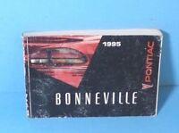 95 1995 Pontiac Bonneville owners manual