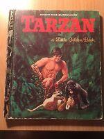Little Golden Book Tarzan VGC