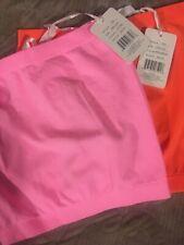 2 Christina Love Neon tube tops One Size