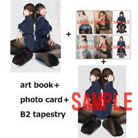 Amatsu sama Yomu Tights palette pause photo art book card tapestry yom japan FS