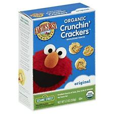 Earth's Best Organic Crunchin' Crackers, Original, 5.3 Ounce (Pack of 6), New, F