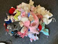 Puppenkleidung Konvolut. 1 Sack voll.  Siehe Fotos