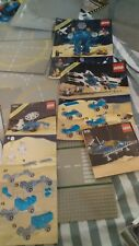 VINTAGE CLASSIC LEGO SPACE BULK LOT   SET NUMBERS 6844 ,918 ,6980 & 6951 + BASES