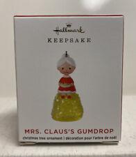 2020 Hallmark Keepsake Mrs. Claus's Gumdrop Limited Edition Mini Ornament