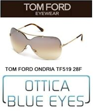 TOM FORD MASK ONDRIA TF 0519 28F Sunglasses солнцезащитные очки Made Italy FT