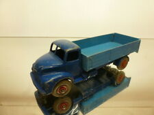 DINKY TOYS 418 LEYLAND COMET FLAT BED TRUCK - BLUE 1:43? - GOOD CONDITION