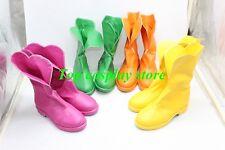 Yes! PrettyCure 5 pretty cure Kasugano Urara Cure lemonade Cosplay shoes boots