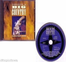 Through a BIG COUNTRY Greatest Hits 1990 Phonogram WEST GERMANY Oop CD Best of