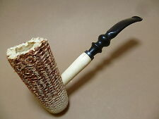 FREEHAND Corn cob pipe NATURE - large Pot - NEW - 401041