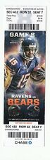 2013 CHICAGO BEARS VS BALTIMORE RAVENS TICKET STUB 11/17/13 BRANDON MARSHALL