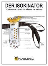 Isokinator training guida con DVD con 35 esercizi per uomo & donna di koelbel