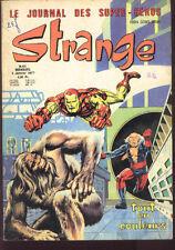STRANGE 85 CAPTAIN MARVEL comics Stan LEE 77 GOOD/TBE Iron man Spiderman