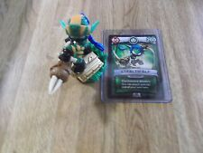 SKYLANDERS SUPERCHARGERS * SUPER SHOT STEALTH ELF  *USED*BUY ME NOW * WITH CARD