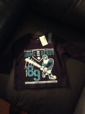 The Place Boys  Graphic shirt 6-9 months long sleeve NWT navy blue