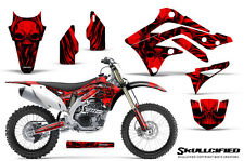 KAWASAKI KXF450 KX450F 12-15 CREATORX GRAPHICS KIT DECALS SKULLCIFIED R