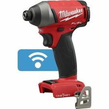 """New Milwaukee M18 18V FUEL 1/4"""" Hex Impact Driver with ONE-KEY Model # 2757-20"""