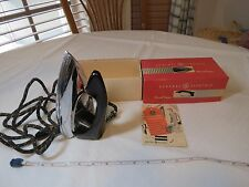 GE General Electric automatic travel iron VINTAGE Rare 12F38 box instructions