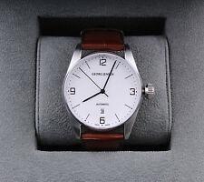 GEORG JENSEN Mens Automatic Mechanical Watch with Date # 395, David Chu. NEW!