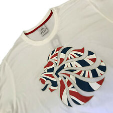 Mens ADIDAS LONDON OLYMPICS 2012 TEE Top T-Shirt Team GB Venue Collection Wh 2XL