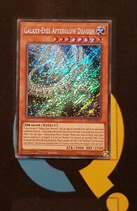 Galaxy-Eyes Afterglow Dragon - LDS2-EN052 - Secret Rare - 1st Edition - YuGiOh