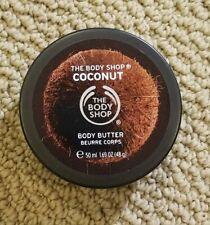 The Body Shop Coconut Body Butter Cream 1.69 oz Travel Size NWOB
