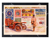 Historic Mobil Oil 1905 Advertising Postcard