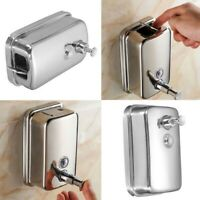 Soap Dispenser Bathroom Wall Mount Shower Shampoo Lotion Container Holder 500 ML