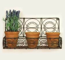 Wire Wall Hanging Baskets rectangular metal garden hangings&wall mounted baskets boxes | ebay