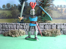 Timpo Medieval Knight attacking 1/32 painted