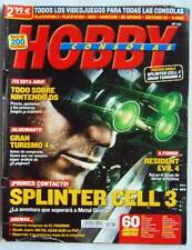 Revista Hobby Consolas Nº 162. Splinter Cell 3 + Guía completa Metal Gear Solid