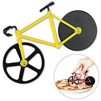 Bike Pizza Cutter Road Bicycle Chopper Slicer Kitchen Tools Stainless Steel