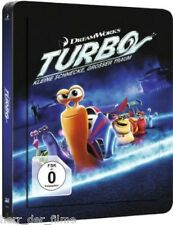 TURBO, Kleine Schnecke, großer Traum (Blu-ray 3D + Blu-ray Disc) Steelbook NEU