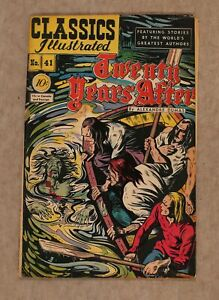 Classics Illustrated 041 Twenty Years After #1 GD 2.0 1947