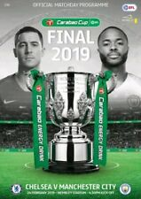 2019 Carabao Cup Final Official Wembley Programme - Chelsea v Manchester City