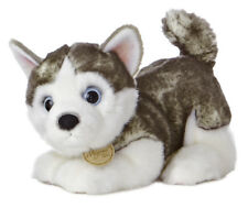"10"" Siberian Husky Pup Miyoni Aurora Plush Stuffed Animal Dog"