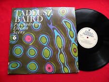 TADEUSZ BAIRD psychodrama  elegeia sceny ORIG 1980 Polish LP MUZA