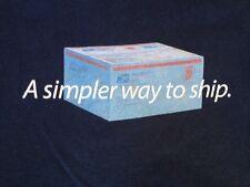 United States Postal Service USPS Flate Rate Box SHIPPING NERD T-Shirt XL USA