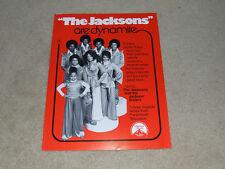 Jackson 5 Promo Australian Photos Pin-ups Advertising Rare