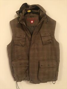 Wellensteyn Country REP-90 CamelCheck Mens Padded Gilet Jacket Size XXL BNWT