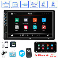 7inch 2 DIN Car Auto FM Stereo Radio MP5 Player Touch Screen Bluetooth USB/TF