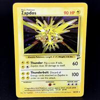 Zapdos Holo - Base Set 2 20/130 - WoTC Rare Pokemon Card - NM/M