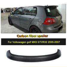 New Carbon Rear Roof Spoiler Wing Fit for Volkswagen MK5 Golf 5 GTI R32 05-07