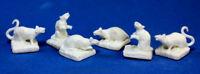 6 x RATS - BONES REAPER figurine miniature d&d jdr rpg fantasy wargame 77016