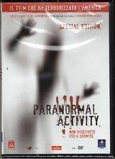 Dvd **PARANORMAL ACTIVITY** nuovo 2007