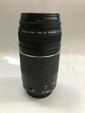 Canon Zoom Lens EF 75-300mm F4-5.6 III + BONUS UV Filter